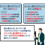 【目的別】オンライン型プログラミングスクール8選!選び方も解説