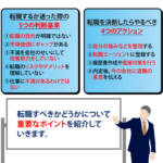 【保存版】転職すべきか5つの判断基準と失敗しないポイントを解説