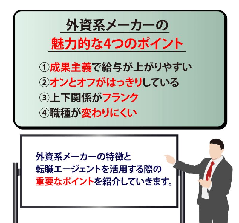 外資系メーカーの特徴と転職に失敗しない4つのステップを解説