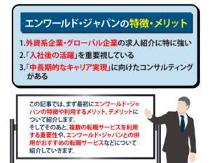 エンワールド・ジャパンの評判は?特徴や利用のメリデメなどを解説