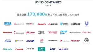 ミイダス:利用企業
