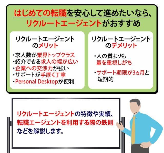 【リクルートエージェント】特徴・メリデメ・評判・おすすめ活用法