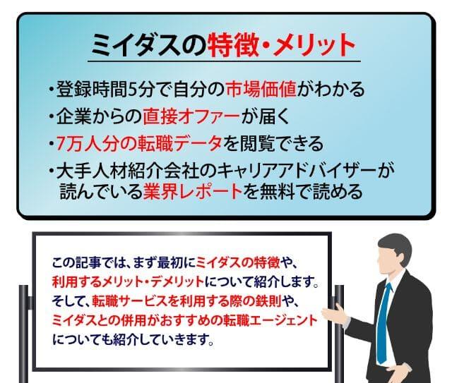 【ミイダス(MIIDAS)】特徴・メリデメ・利用の流れ・おすすめ活用法を解説